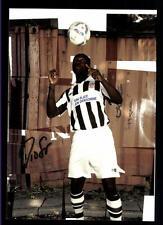 Davidson Drobo ampen AUTOGRAFO biglietto FC St Pauli 2011-12 ORIGINALE + a 120299