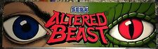 "Altered Beast Arcade Marquee 26""x8"""