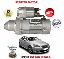 FOR LEXUS IS200D IS220D 2.2D 2005-  NEW STARTER MOTOR 28100-0G040 28100-0R010