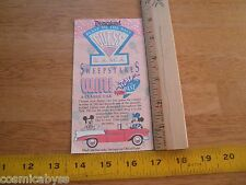 Disneyland 1989 Blast to the Past guess o rama used ticket yo-yo's frisbees