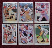 1990 Leaf California Angels Baseball Team Set (20 Cards) ~ Dave Winfield Joyner