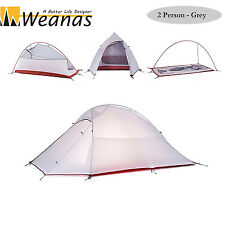 Weanas 2 Person 4 Season Waterproof Backpacking Tent Camping Ultralight Cabin