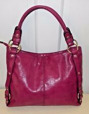 RELIC by Fossil Orchid Purple Faux Leather Tote Shoulder Bag VGC  Beautiful