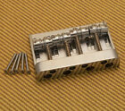 008-1460-000 Chrome Fender High Mass Dlx 4-String Jazz P/Precision Bass Bridge