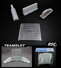 TEAM SLOT 1:32 COMPLETE PAINTED DOUBLE SIDED WALL TRACK SCENE CAR DIORAMA