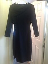 Black Zara Midi Dress BNWT, Uk size XS