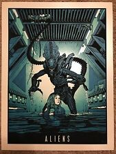 New Flesh N.E. Movie Print Poster Mondo Aliens James Cameron Sigourney Weaver