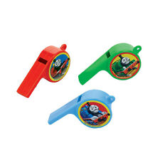 12 Thomas the Tank Engine Trains Childrens Party Treat Favor Whistles