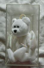 """New Rare Halo Beanie Baby 8.5"""" . Born August 31, 1998 In Clear Box"""