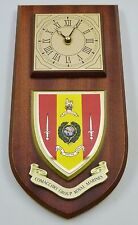 COMACCHIO COMPANY ROYAL MARINES HAND MADE TO ORDER REGIMENTAL WALL CLOCK
