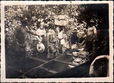Afrique. Cameroun. Photo Goethe George. Retour de pèche. Vers 1935