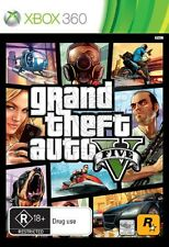 Grand Theft Auto GTA V (Five 5) Game Xbox 360 Microsoft Xbox 360 PAL Brand New