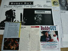 BUDDY GUY- MAGAZINE CUTTINGS COLLECTION (REF T6)