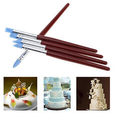5 Pcs/Set Decorating Brush Fondant Shaping Pen Cupcake Sugarcraft Baking Tool