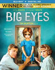 Big Eyes - Amy Adams Christoph Waltz (Blu-ray Disc, 2015) *READ*