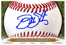 Bubba Starling Signature Card AUTO signed K.C. Royals