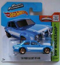 Hot Wheels '70 FORD ESCORT RS1600 (Fast & Furious) A todo gas. PAUL WALKER Limit