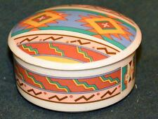 "STUDIO NOVA - SANTA CLARA DESIGN  - trinket box 3 3/4"" wide"