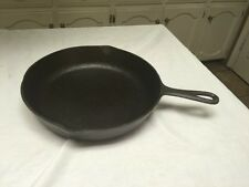 Birmingham Stove & Range #8 Cast Iron Skillet With Fire Ring