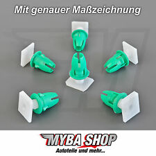 20x support clip fixation rail avec tulles MERCEDES BENZ a0019889781 NEUF