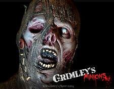 Uncut Lord Grimley Zombie Scarecrow Halloween Mask Horror Undead