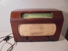 Antique National Union Wood Case AM Tube Radio Model G-619