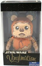 """NEW Disney Parks Star Wars WICKET the EWOK Large 9"""" Vinylmation LE 1000"""