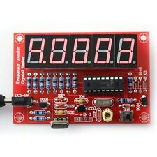 DIY Kits Digital LED 1Hz-50MHz Crystal Oscillator Frequency Counter Meter Tester