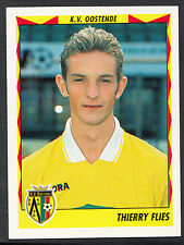 Panini Belgian Football 1999 Sticker - No 309 - K.V.Oostende - Thierry Flies