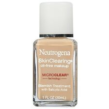 Neutrogena SkinClearing Oil-Free Makeup Natural Ivory(Treats Acne+ Make Up)30 ml