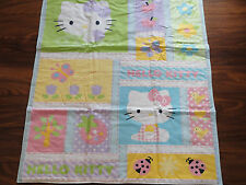 Handmade/ Homemade Baby Quilts-  Hello Kitty Choice of Back
