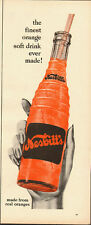 1040's Vintage ad for Nesbitt's Soda/Orange Soda/hand/bottle in ad (061813)