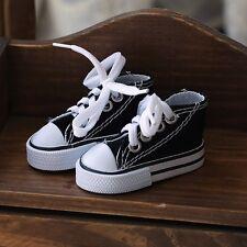 1/3 BJD Black Canvas Shoes Dollfie Lace Up Luts AOD DZ Sports Shoes New