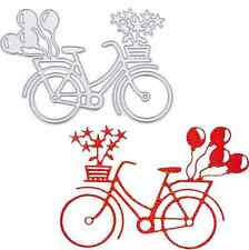 Bycicle Wedding Cutting Dies Stencils DIY Emboss Scrapbooking Card Paper Craft