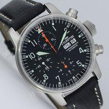 FORTIS aviatori Cronografo DAYDATE 40mm Orologio Automatico ref. 597.11.11 L Nuovo