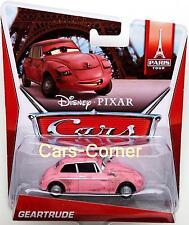 Disney Pixar Cars 2 Geatrude die Frau von Lubewig - Paris Tour`s - Mattel OVP