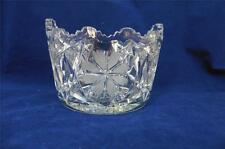 Vintage/Antique AMERICAN BRILLIANT Cut Glass Butter Tub  Mayo Ice Bucket