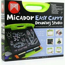 Micador - Easy Carry Art Studio - Everything to Keep Kids Amused when Travelling