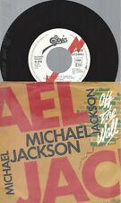 "7"" MICHAEL JACKSON -- OFF THE WALL --MUSTERPLATTE --PROMO"