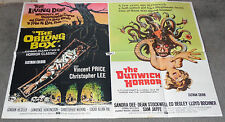 THE OBLONG BOX/DUNWICH HORROR original rare quad movie poster VINCENT PRICE