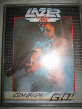 Cassetta per Commodore 64 C64 LAZER TAG- Boxed