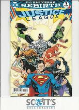 JUSTICE LEAGUE  #1. VARIANT  NM.  (BOARDED & BAGGED)  FREEPOST