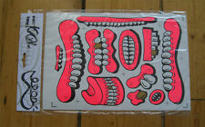 Sweet Toof Sticker Set Signed HPM signed -/25 + Cylops or Mau Mau Sticker Print