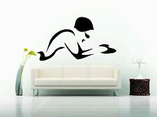 Wall Decor Vinyl Sticker Decal Swim Swimmer Team Sport Hobby Water Pool
