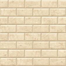 NUOVO MURIVA SABBIA Muro in pietra modello di mattoni ORO Motif Vinile Carta da parati e62907
