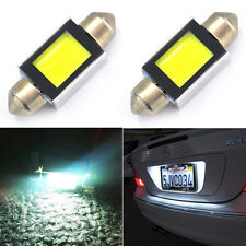 2X 36mm Car COB LED Festoon C5W 239 272 Bulbs CANBUS No Error License Plate Lamp