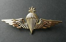 JORDAN PARA LARGE JUMP WINGS JORDANIAN LAPEL PIN BADGE 3 INCHES