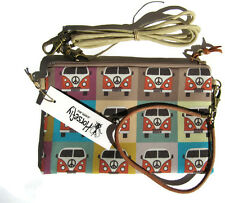 NEW VW Combi Tobacco Pouch bag wristlet purse handmade in Australia HORSEFLY