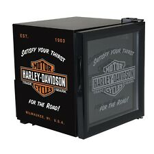 HD® Harley Davidson Bar & Shield Beverage HD Chiller Fridge w/ Free Shipping