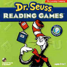 Dr. Seuss Reading Games New in Box ABC & Cat in Hat Teaches Basic Reading Skills